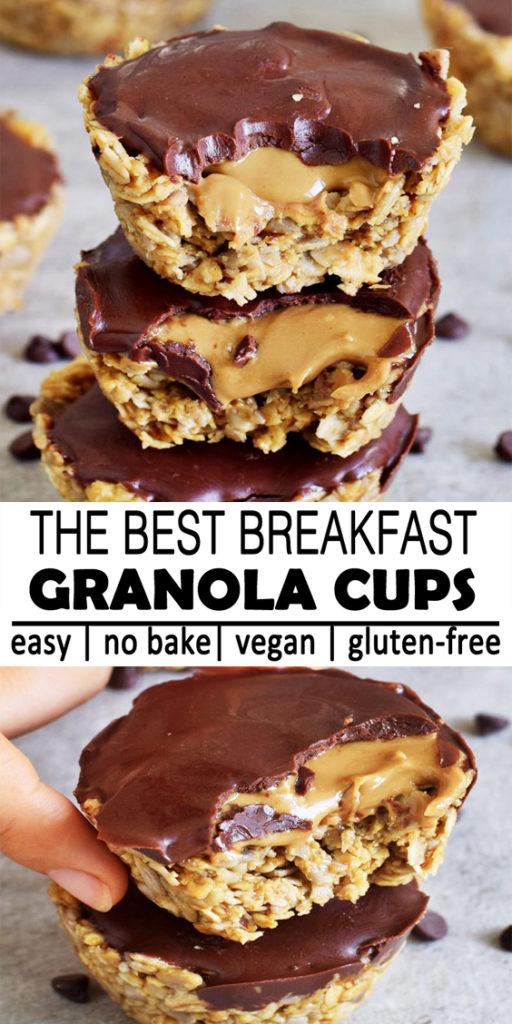 Easy Breakfast Granola Cups