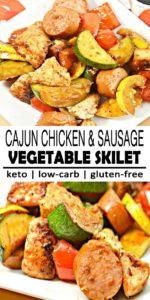Keto Cajun Chicken and Sausage Recipe