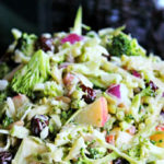 Vegan Apple Broccoli Salad